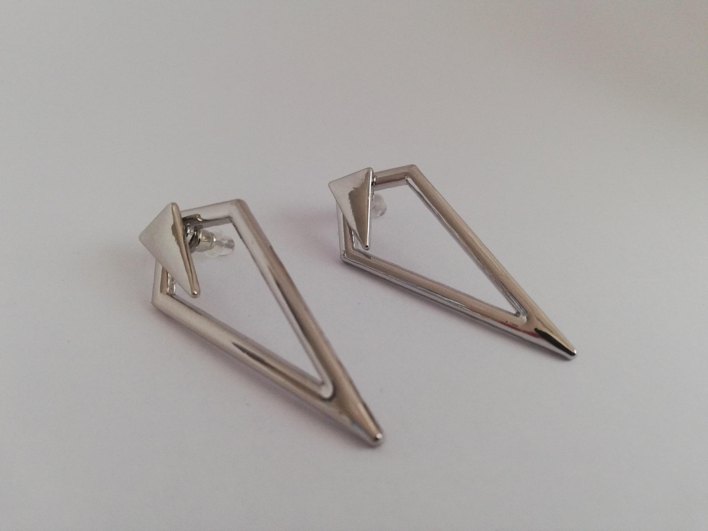 Oorbellen driehoek