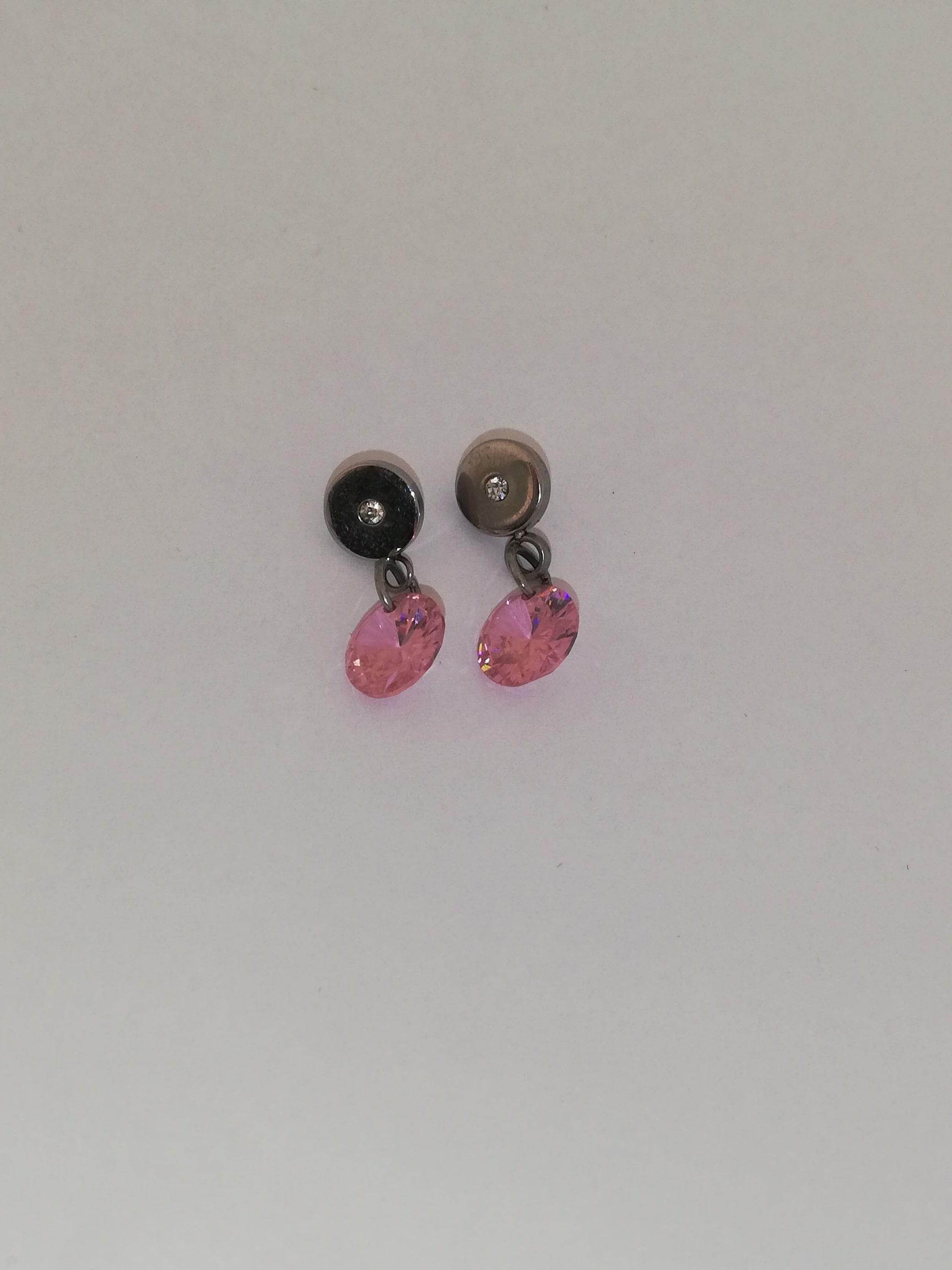 Stekers met roze steentjes
