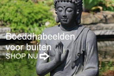 Boeddhabeelden voor buiten