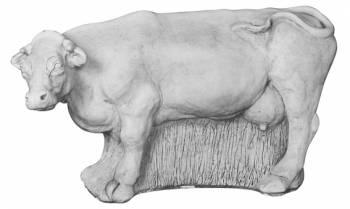 Tuinbeeld koe