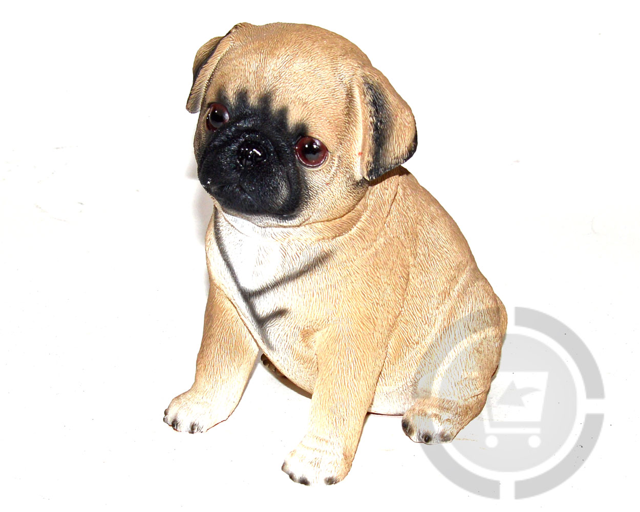 Dierenfiguur Mopshondje pup