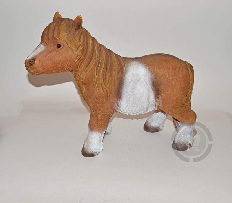 Dierenfiguur Staande Pony
