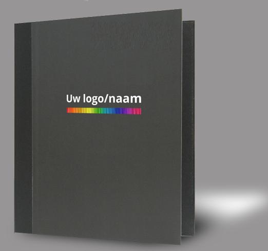 Podium/Lessenaarmap <br/> Gelamineerd.Voorzien van uw logo en/of naam in full colour.