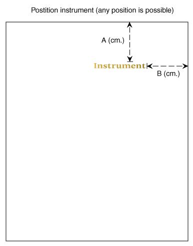 Luxe foliebedrukking<br/> met naam instrument. <br/><br/> Bepaal de positie, upload uw bestand, en u krijgt (kostenloos) een uitgewerkte PDF van ons terug.<br/>
