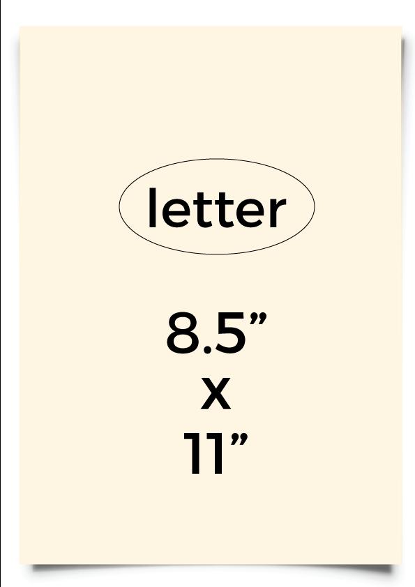 Octaset ivory letter size 240 g-m²