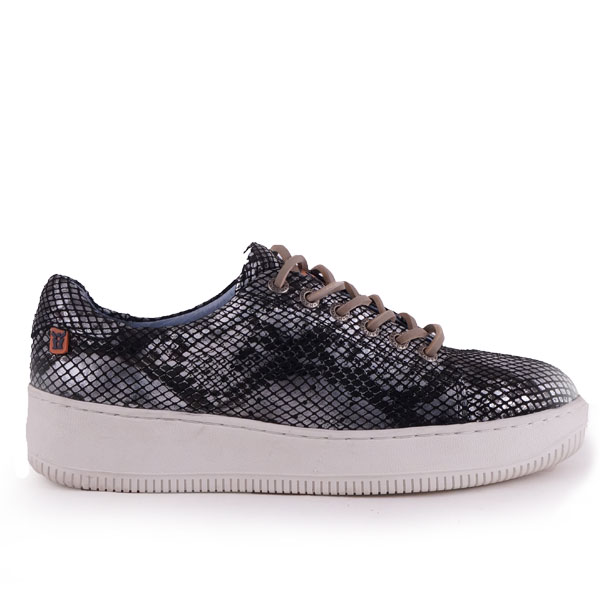 Sympasneaker 4207 Reptile Black/Silver