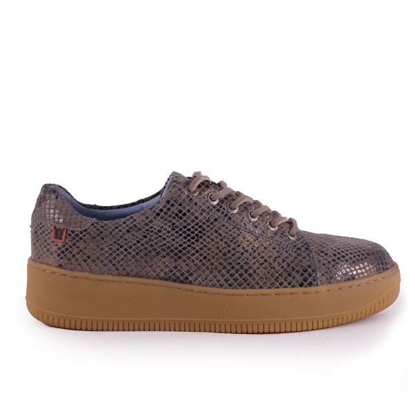 Sympasneaker 4207 Reptile Taupe/Gold