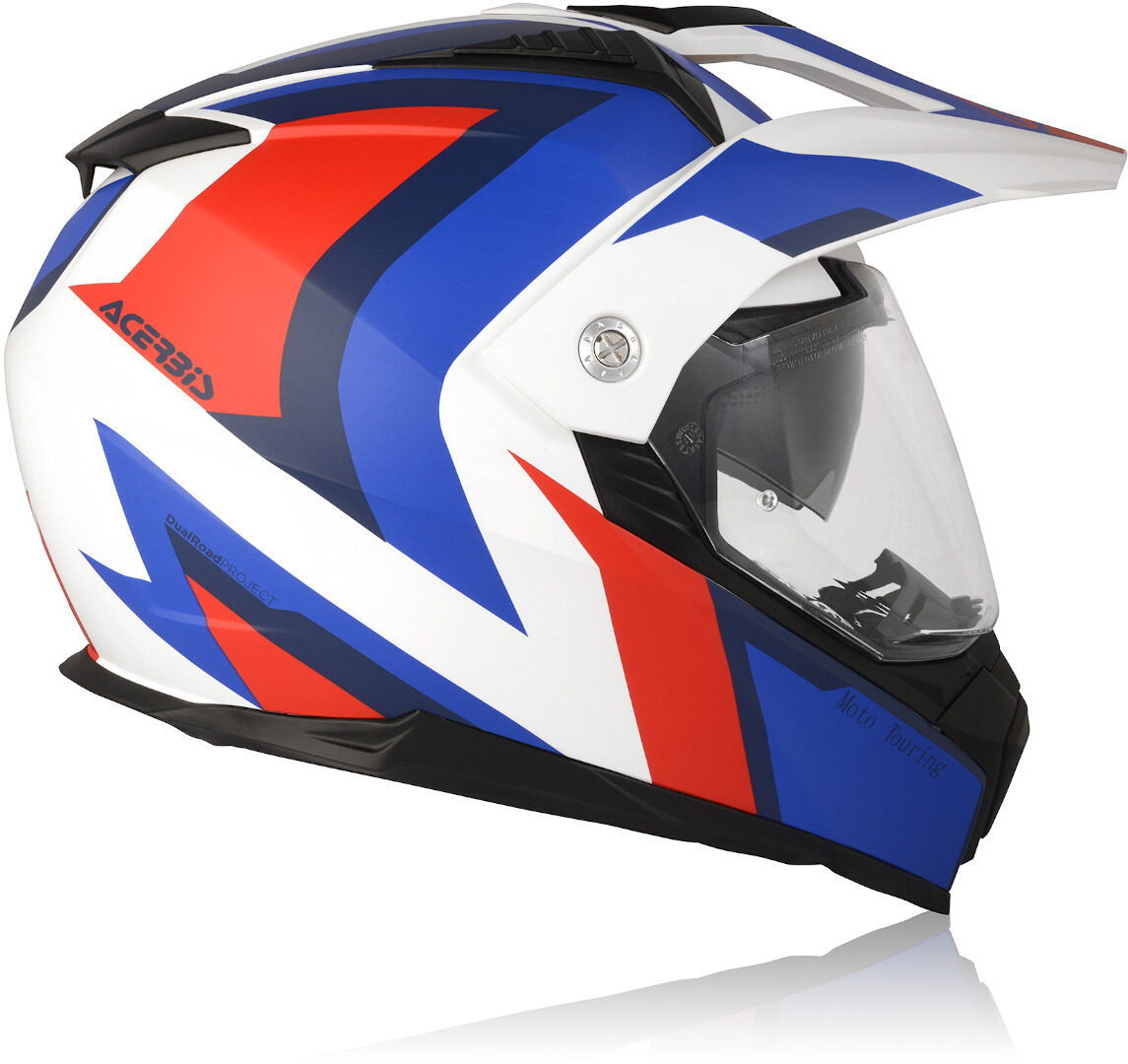 Acerbis Enduro Helmet--Honda Colors