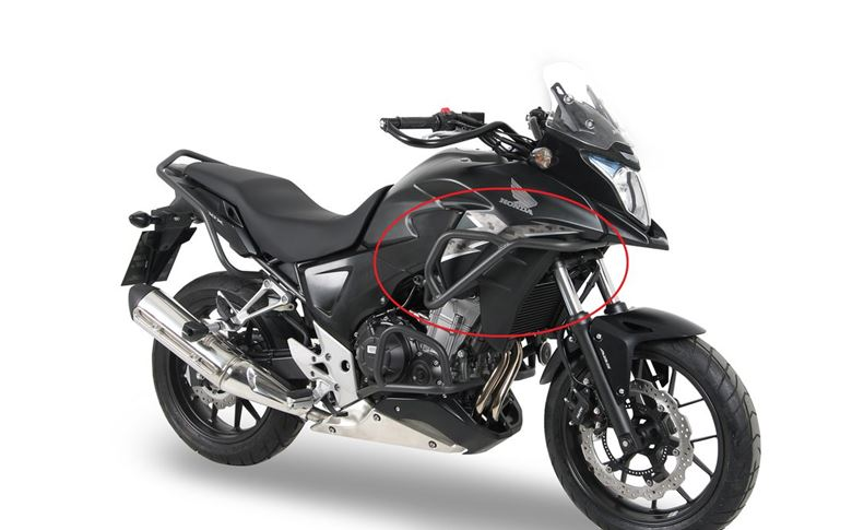 Tank Guard Anthracite for Honda CB500X until 2016