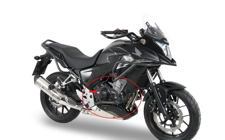 Engine Crash bar/Protection anthracite for Honda CB500X