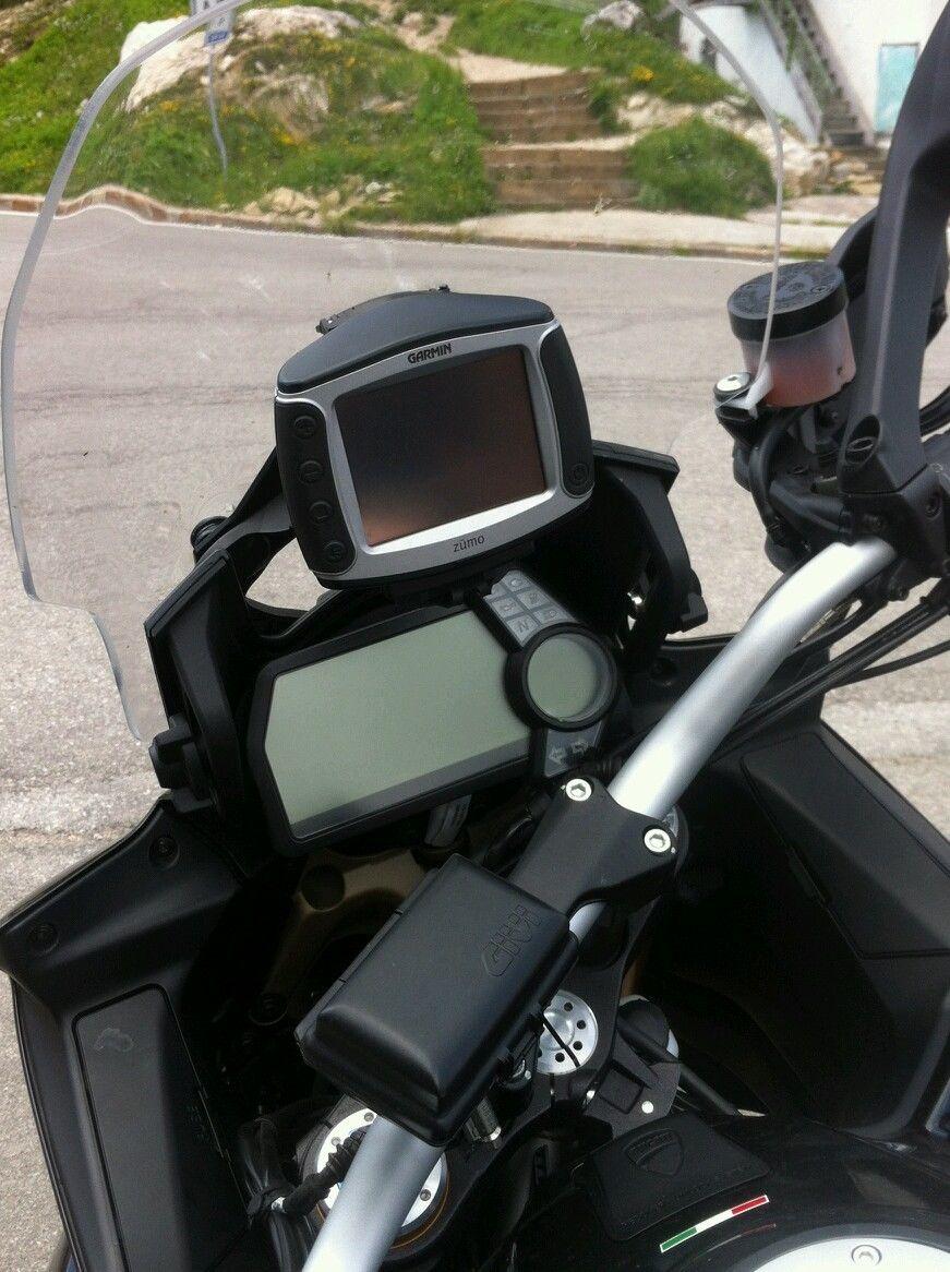 DUCATI MULTISTRADA 1200 GPS/Smartphone Houder 2010-2012