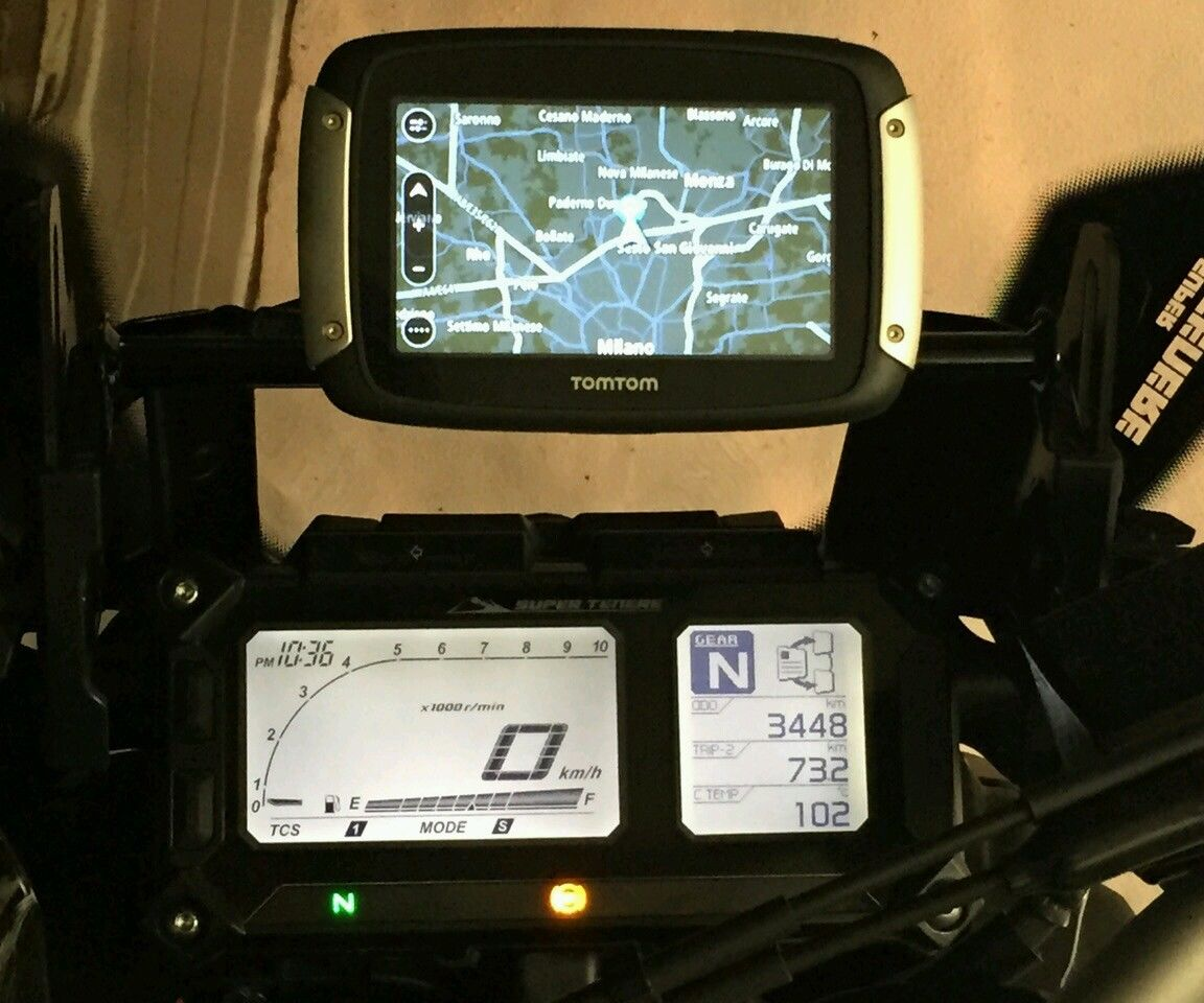 Yamaha XT 1200 Super Tenere GPS/Smart phone houder 2010- 2016