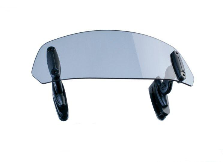 Puig Windscreen extention Clip-on 250x100mm (Light Tinted)