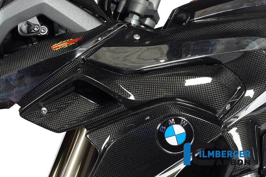 Ilmberger Air Intake scoop/Radiator Cover kit x 2 Carbon SAVE