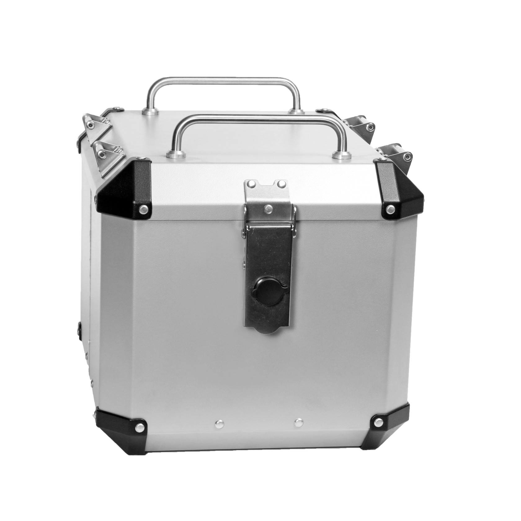MyTech TOP CASE 33 ltr with Rack - Aluminium ---SAVE