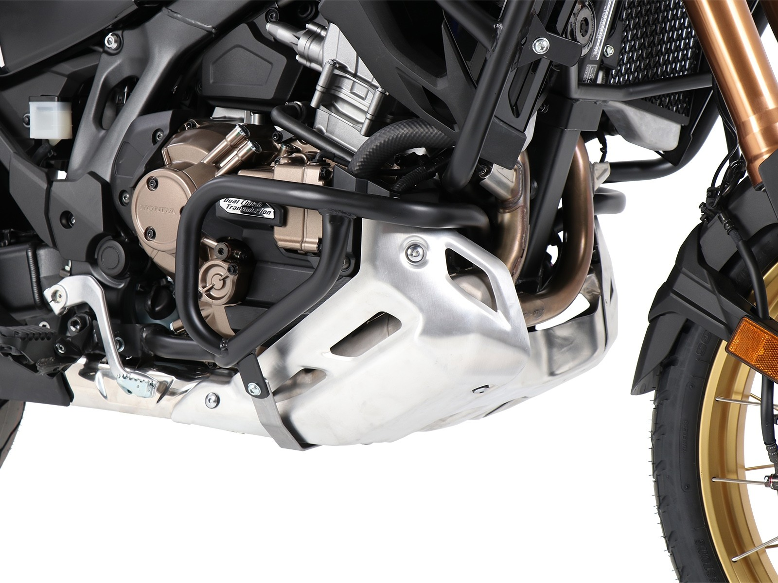 Hepco Lower Engine Protection Honda CRF 1100 L Africa Twin Adventure Sports  2020--Black