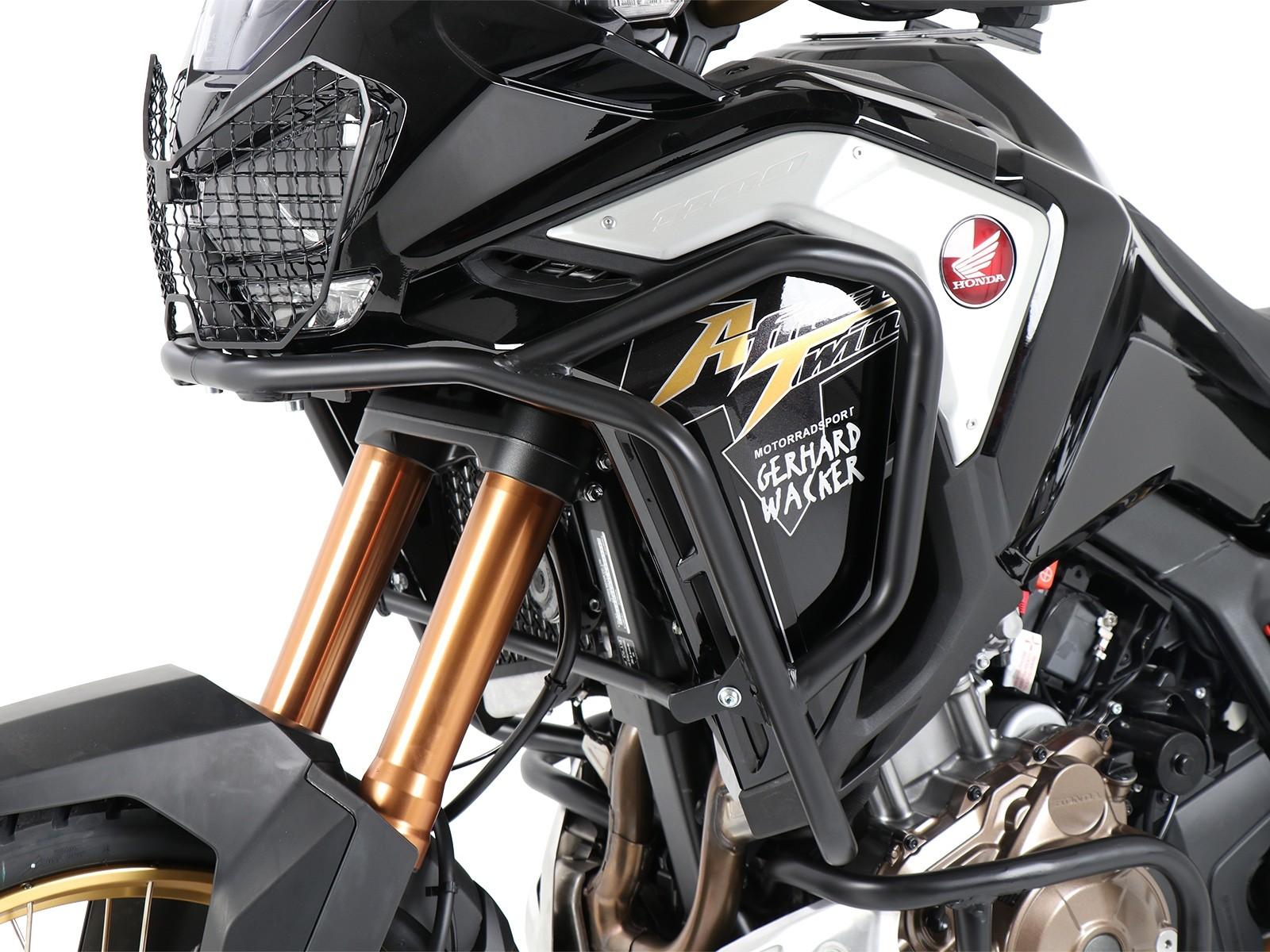 Hepco Upper Engine/Tank Protection Honda CRF 1100 L Africa Twin Adventure Sports- Black 2020