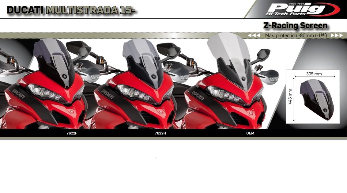 Ducati Multistrada 1260 Enduro Puig windscreen--Jetstream