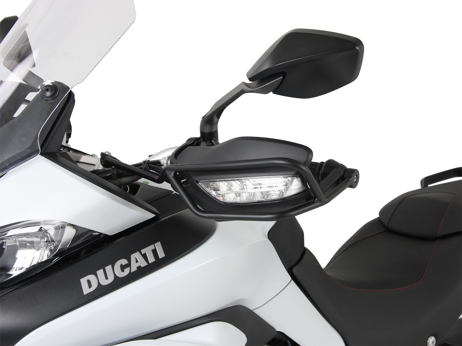 Ducati Multistrada 1260 Enduro  Handguard set FROM HEPCO ---Black