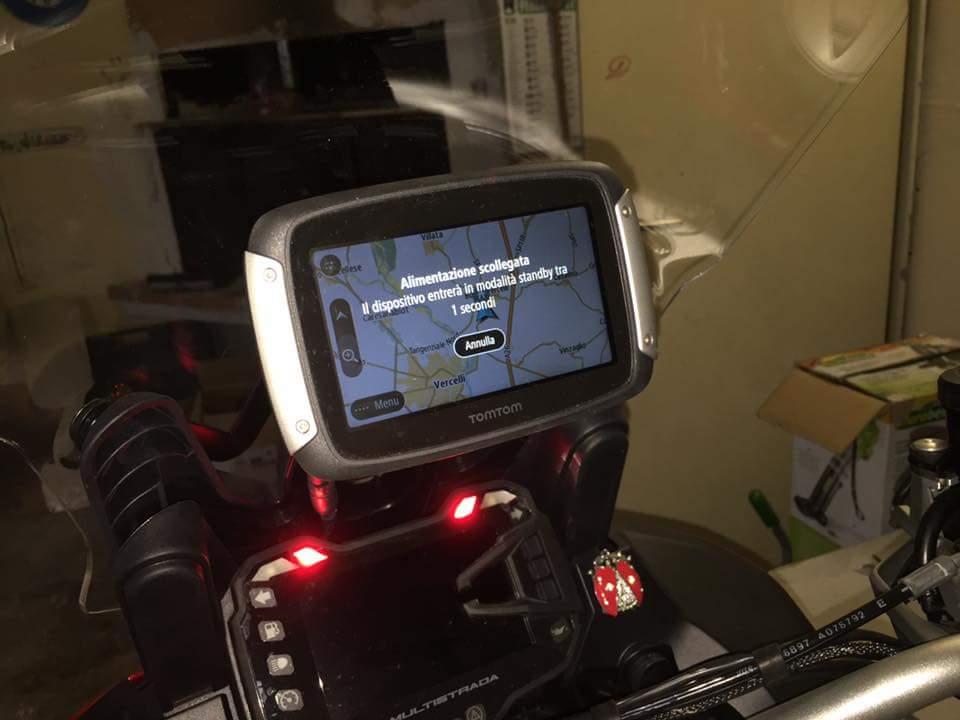 DUCATI MULTISTRADA 1200 Enduro GPS/Smartphone Houder