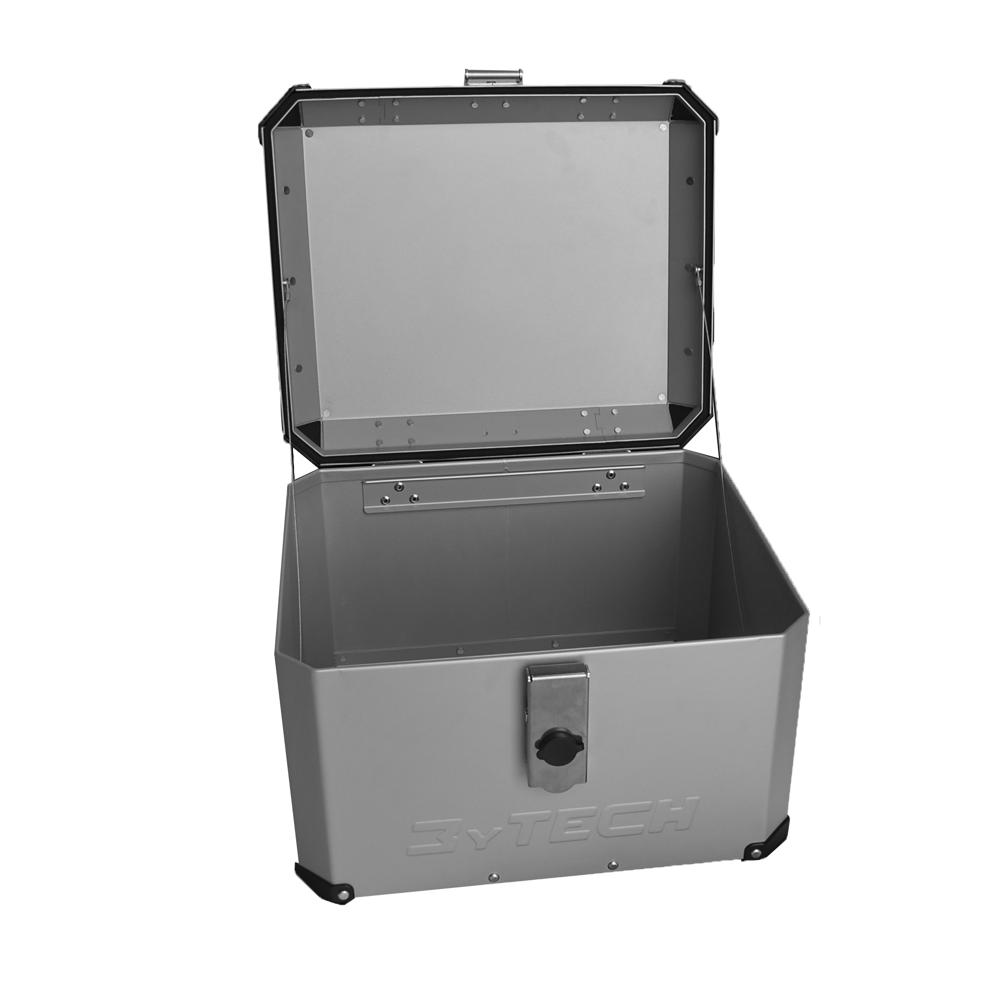 Mytech TOP CASE 33 LITER WITH FRONT OPENING - Silver