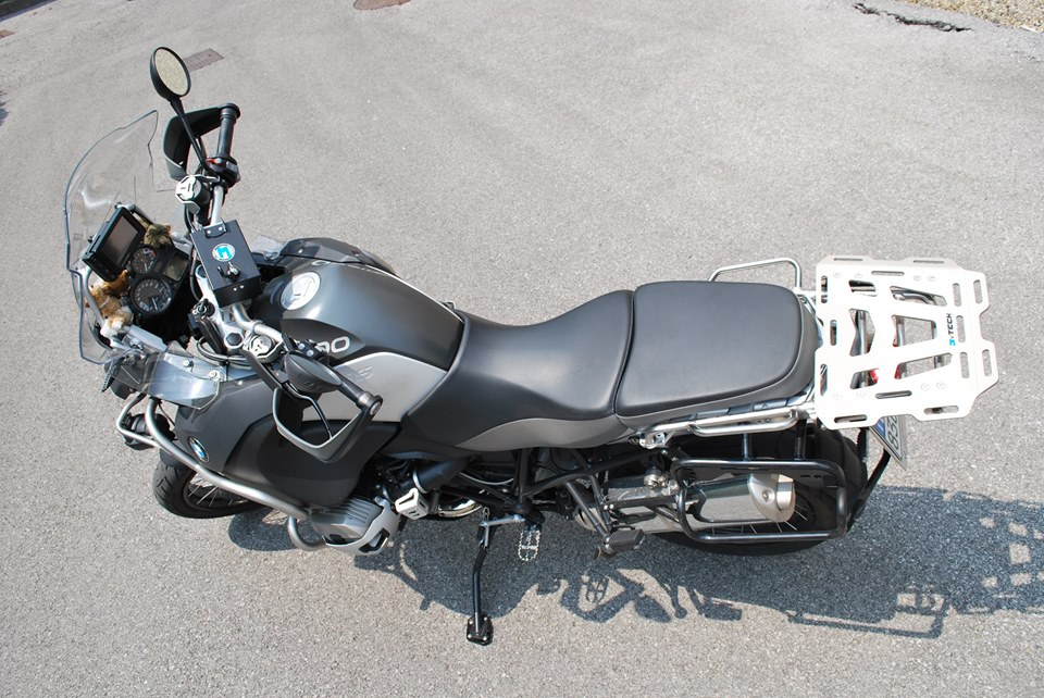 Mytech Aluminium Top Box Luggage Rack for BMW R 1200 GS LC 2014-