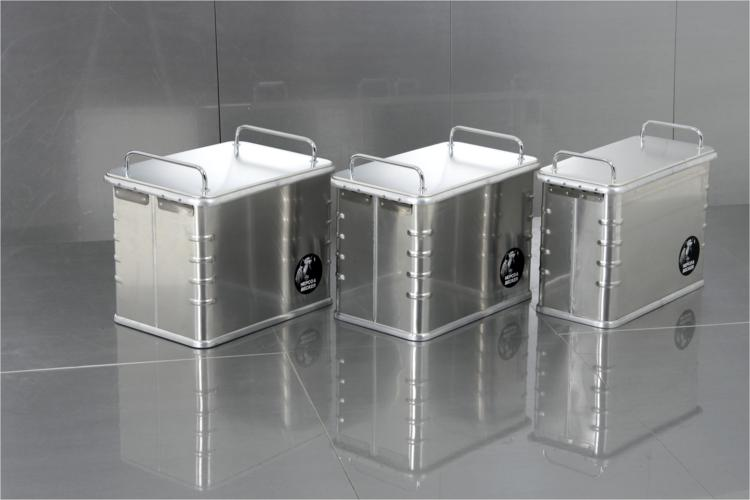 Hepco & Becker  Alu Box  45 liter Saddle bag  right