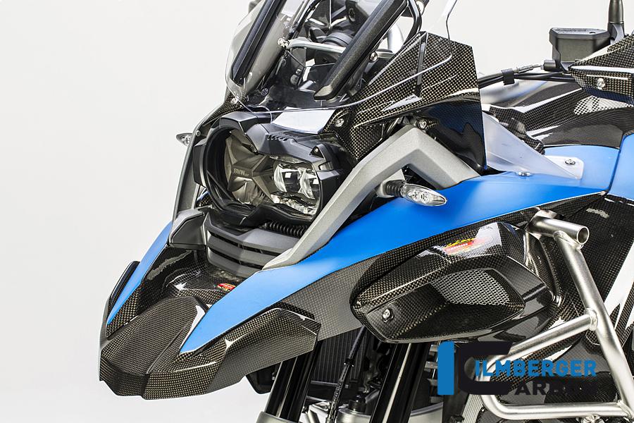 Ilmberger cockpit wind deflector kit x 2 Carbon SAVE