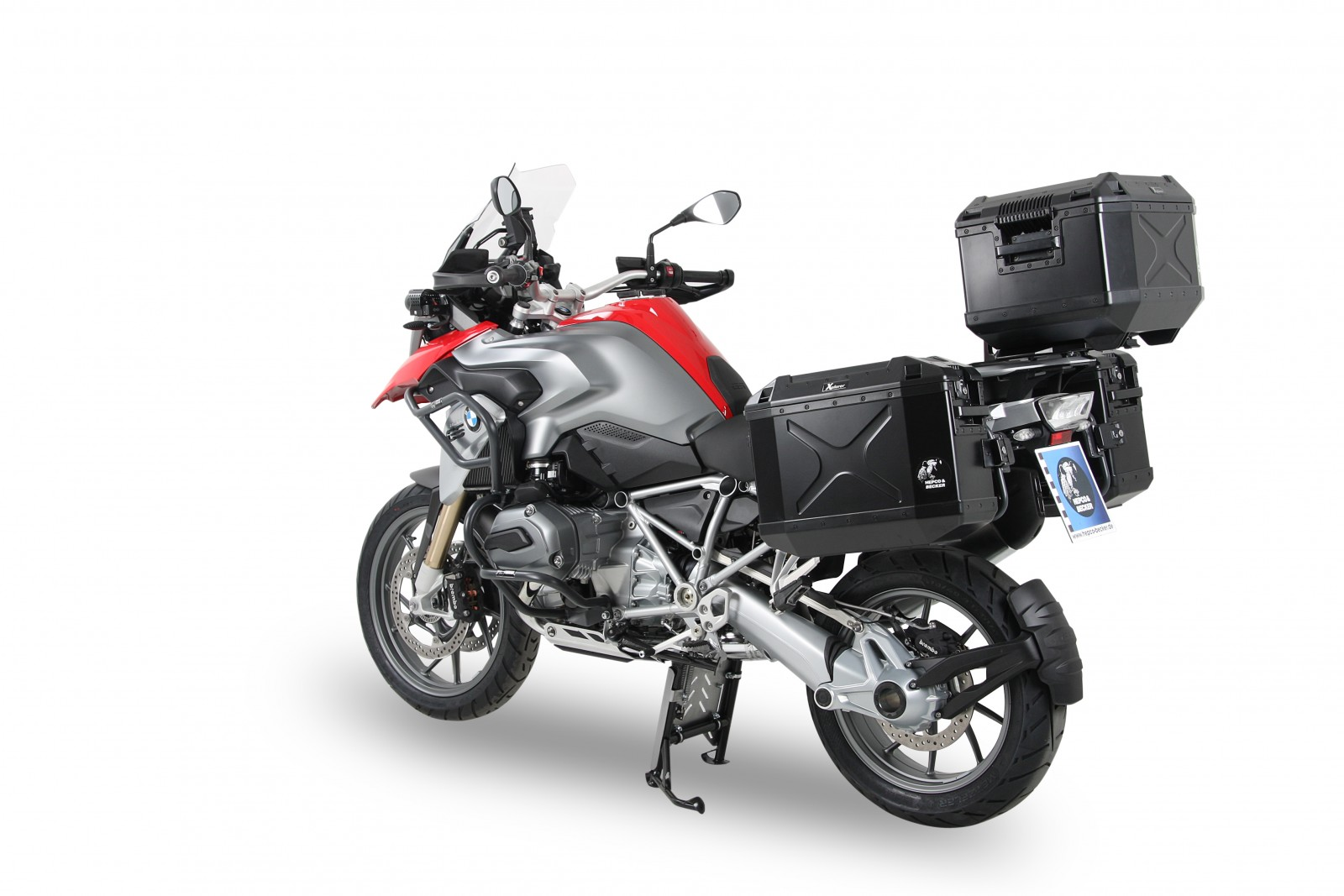 SIDECARRIER LOCK-IT - BLACK FOR BMW R1250GS (2018-)