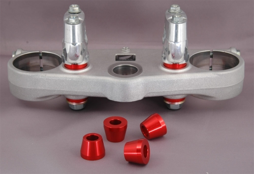 KTM 450 SXF, XCF SUB Mount / Complete Stabilizer Kit / with Triple Clamp
