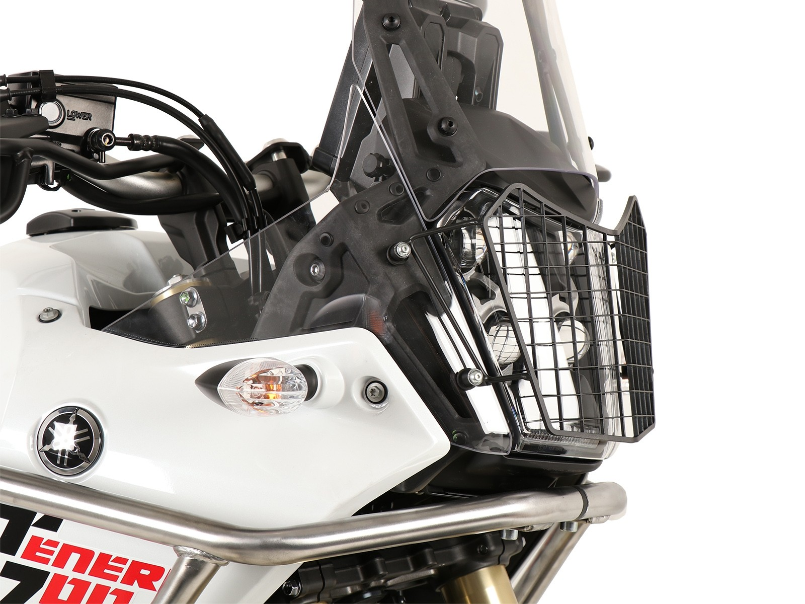 Headlightcover Hepco and Becker Yamaha XT 700 Z Tenere