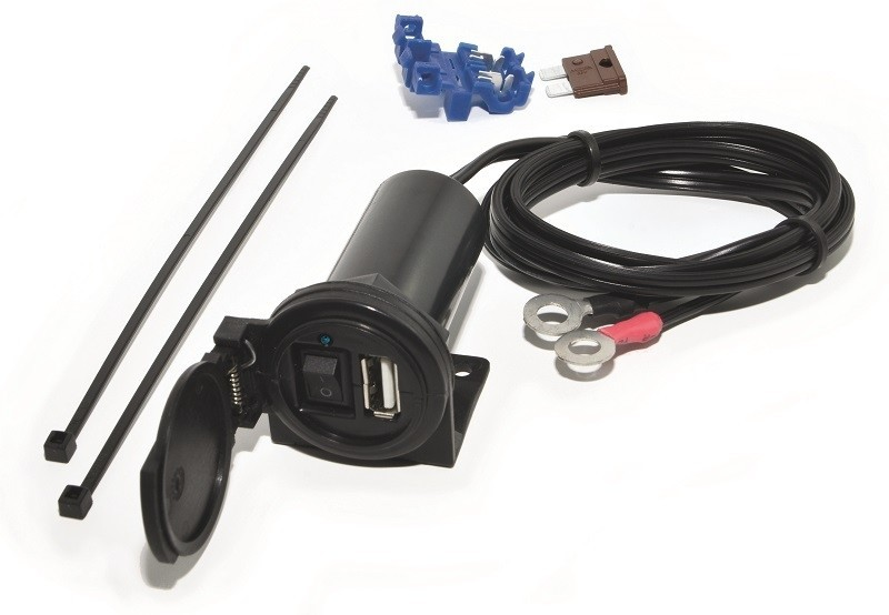 USB aansluiting/socket met aan/uit schakelaar