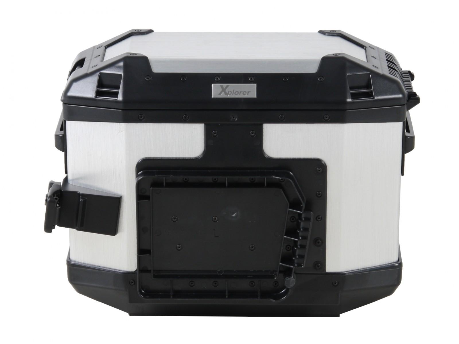 Hepco & Becker Xplorer Side Case 30 L Silver Right