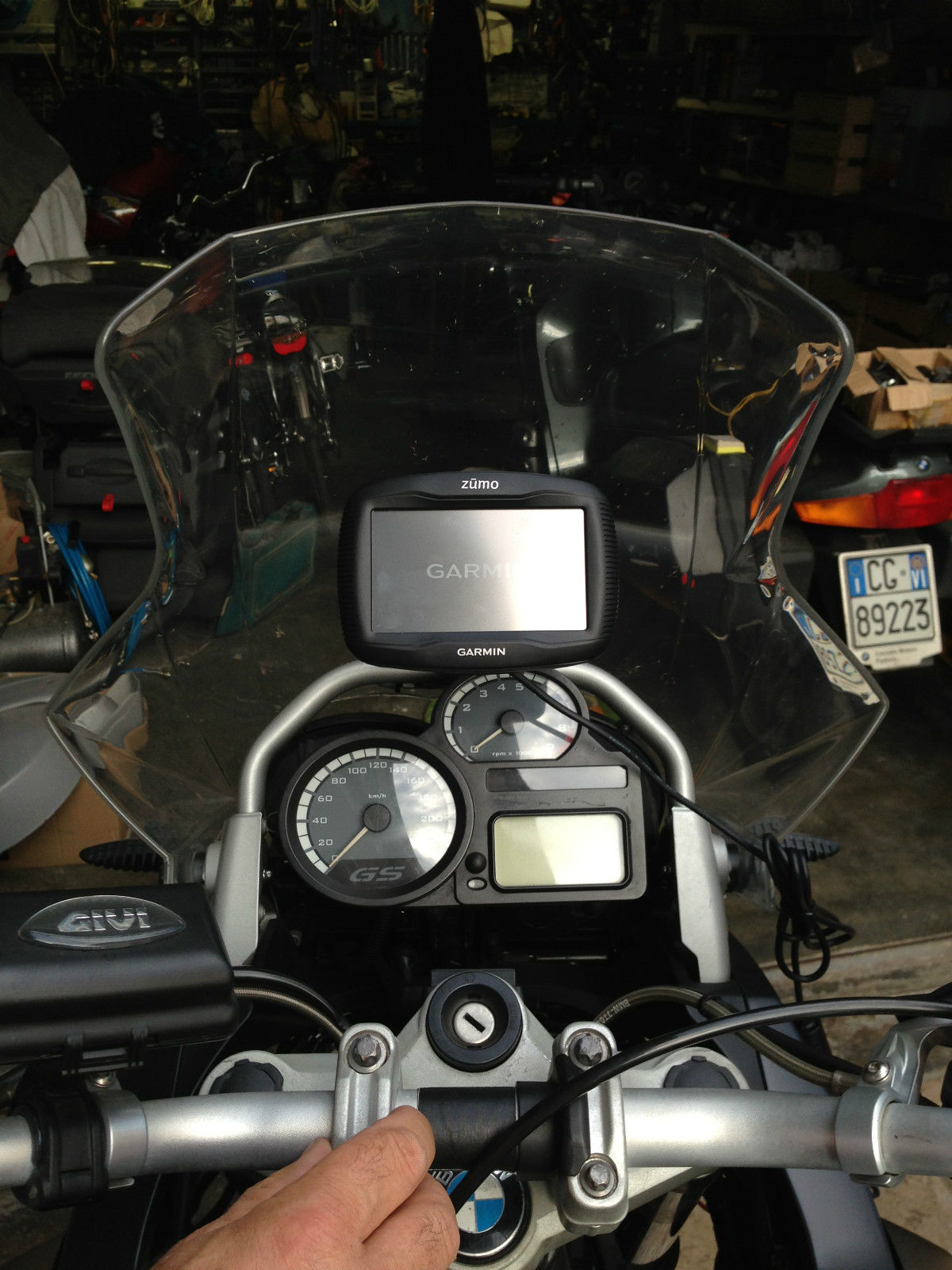 BMW R 1200 GS GPS/Smart phone houder2008-2012
