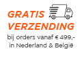 Gratis levering in Nederland en België, bij orders vanaf 499 euro!