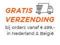Gratis levering in Nederland en België, bij orders vanaf 499 euro!