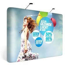 Pop-Up Display 3x3 Straight