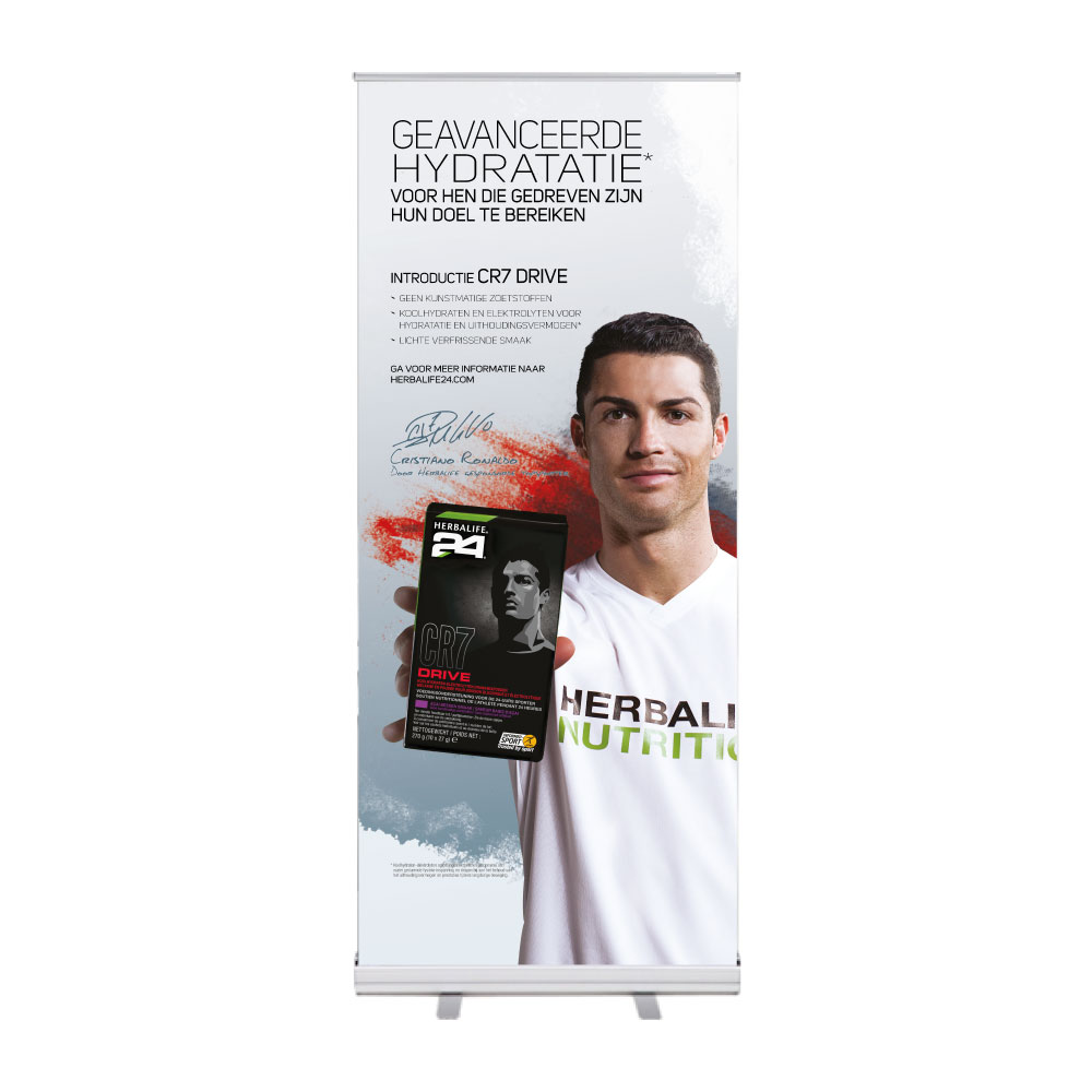 "Roll-Up ""Herbalife CR7 1"""