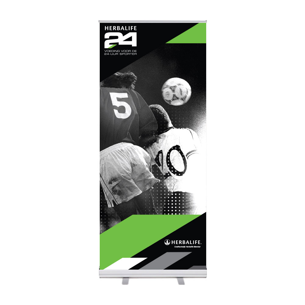 "Roll-Up ""Herbalife 24 HIDS Football"""