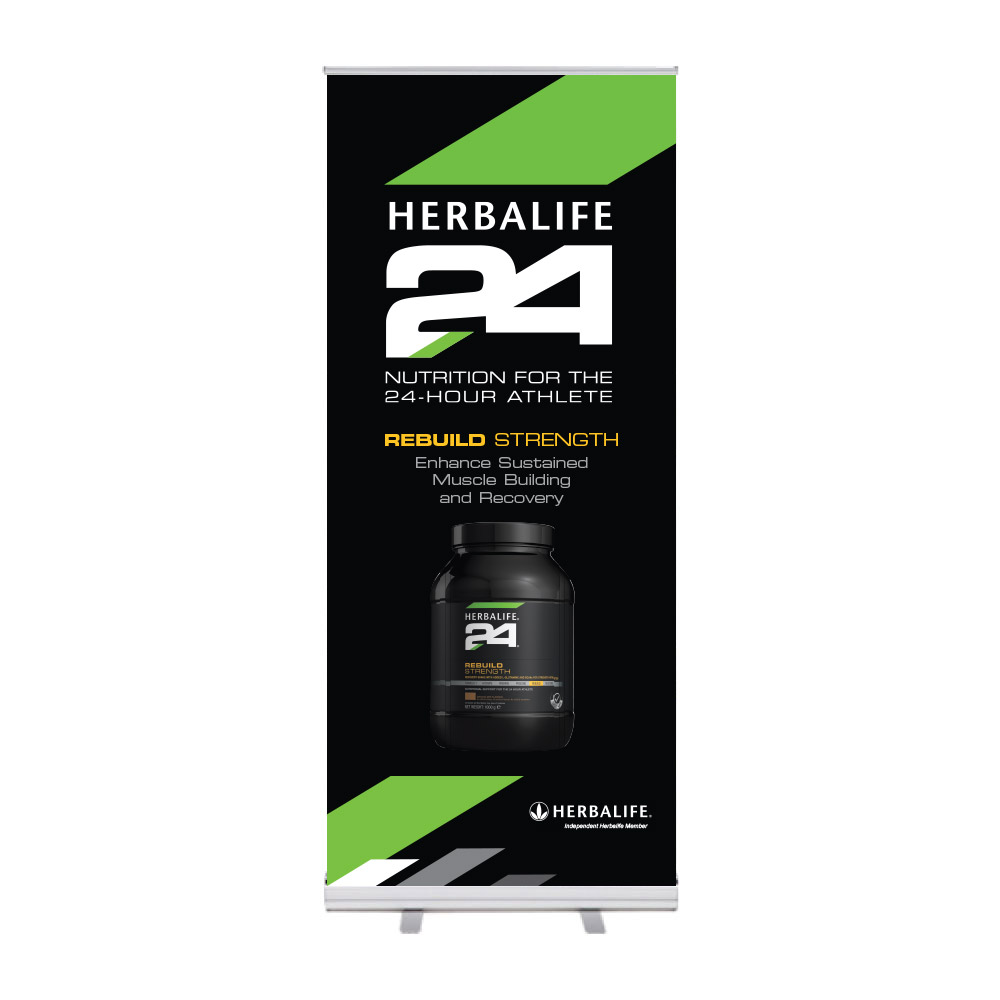 "Roll-Up ""Herbalife 24 HIDS Rebuild Strength"""