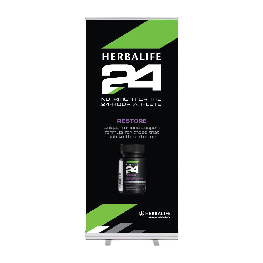 "Roll-Up ""Herbalife 24 HIDS Restore"""