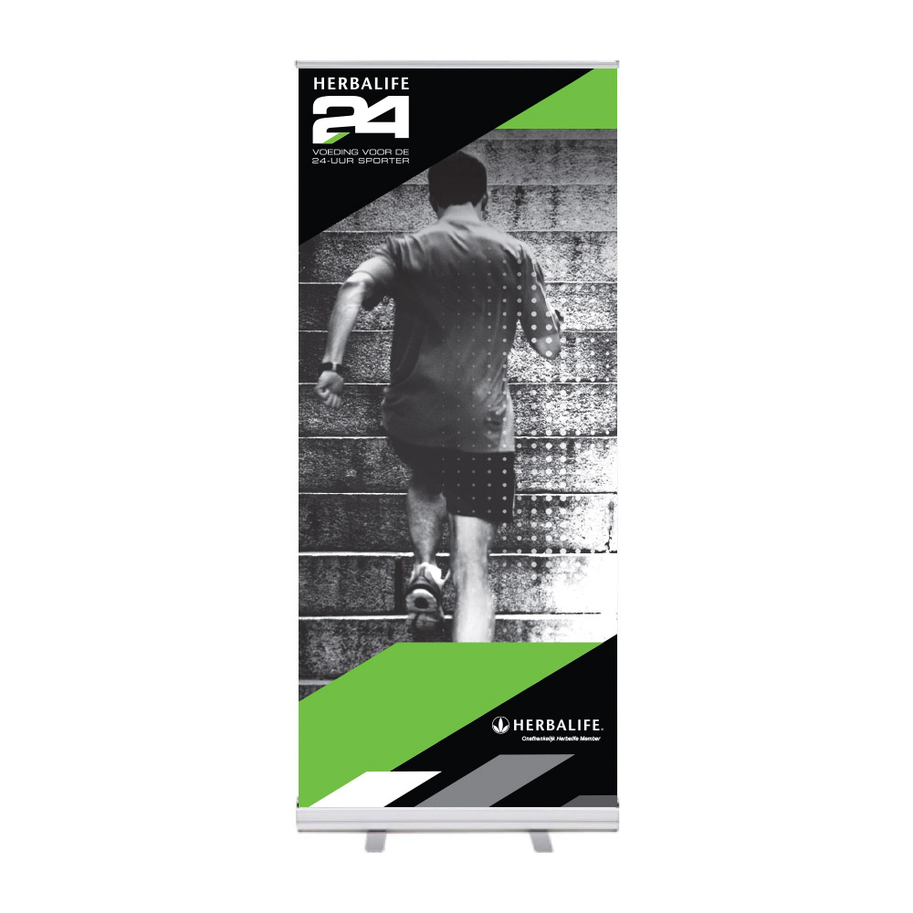 "Roll-Up ""Herbalife 24 HIDS Runner"""