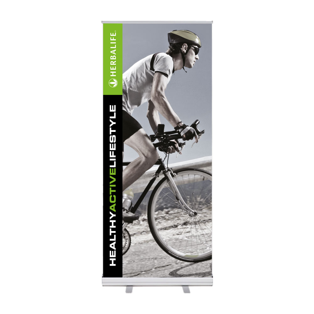 "Roll-Up ""Herbalife HAL Bike"""