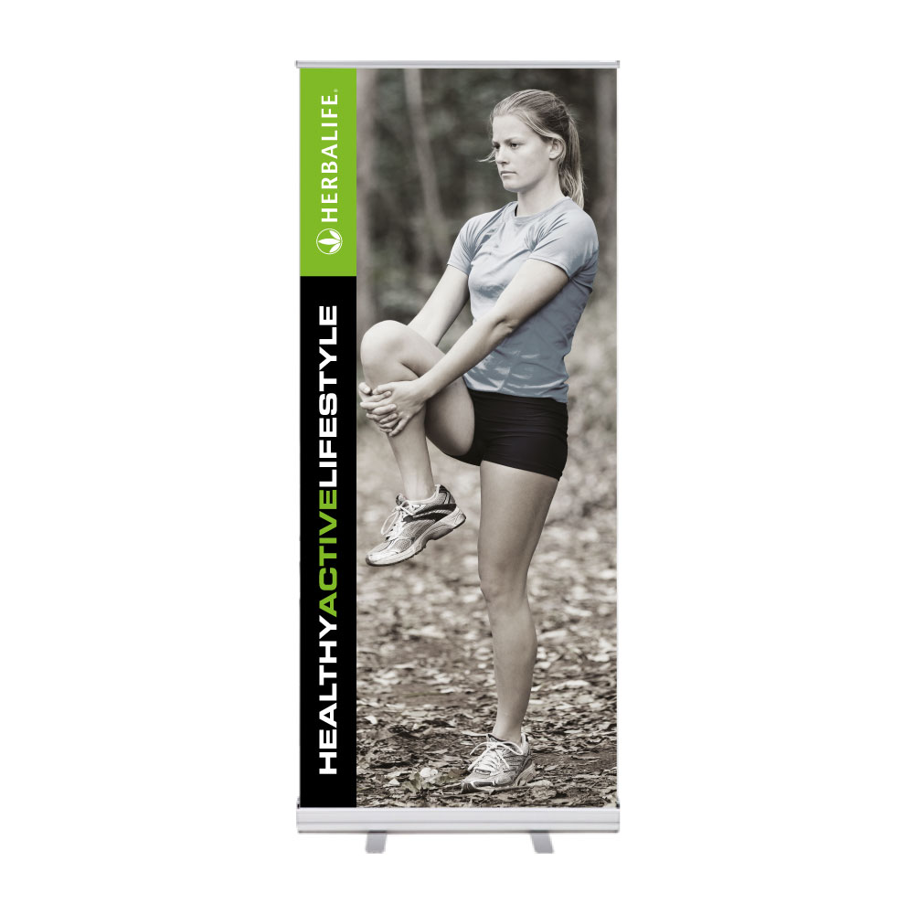 "Roll-Up ""Herbalife HAL Stretch 1"""