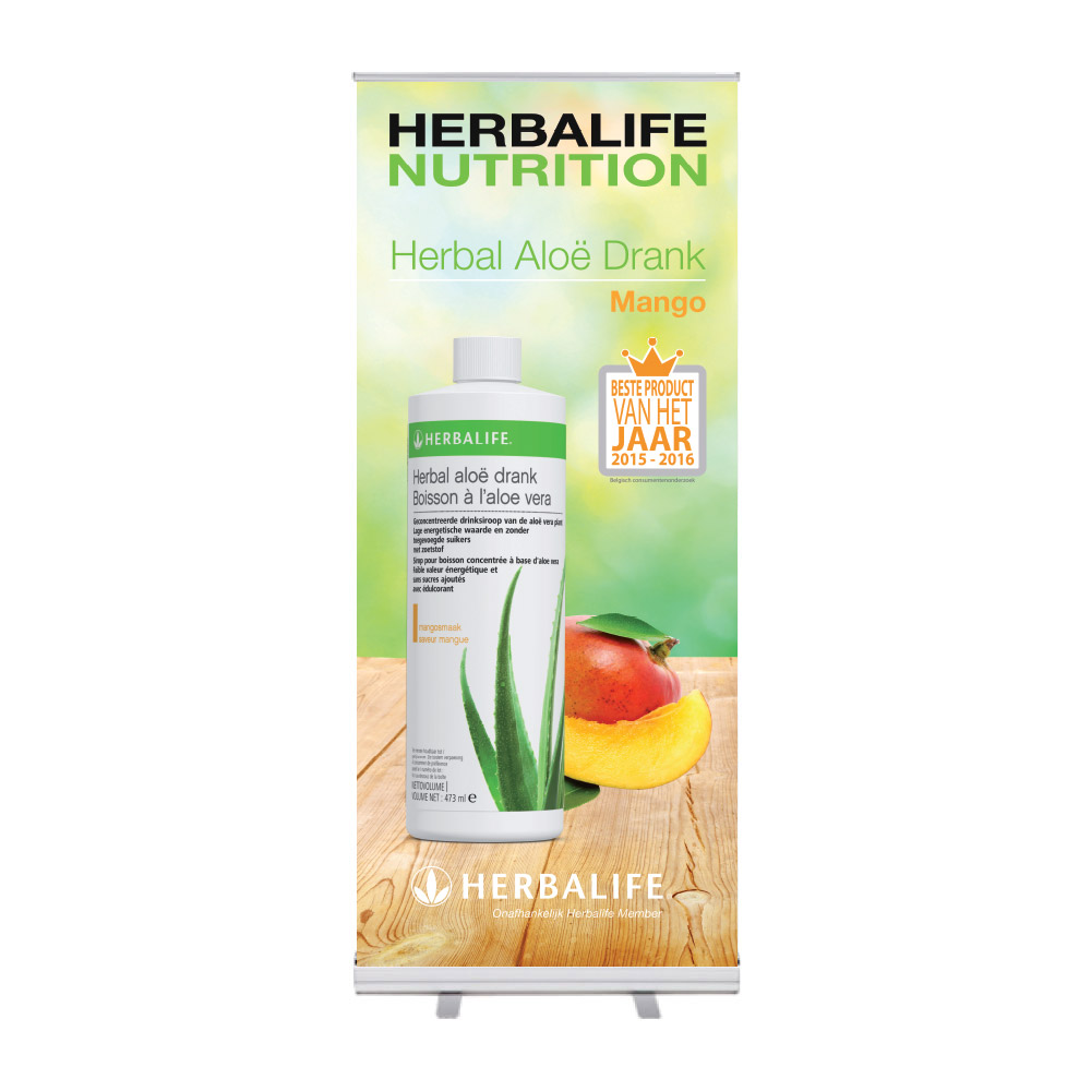 "Roll-Up ""Herbalife Herbal Aloe Drink Mango"""