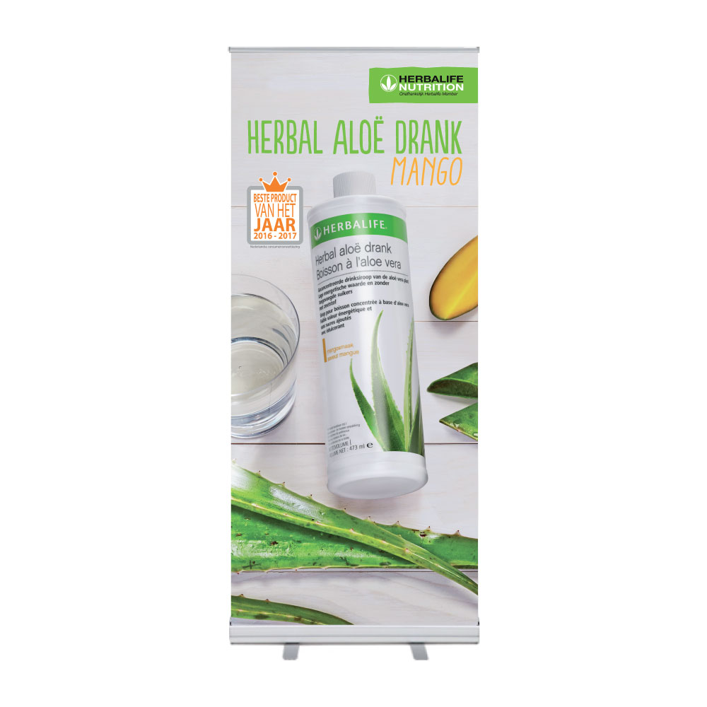 "Roll-Up ""Herbalife Herbal Aloe Drink Mango 2"""