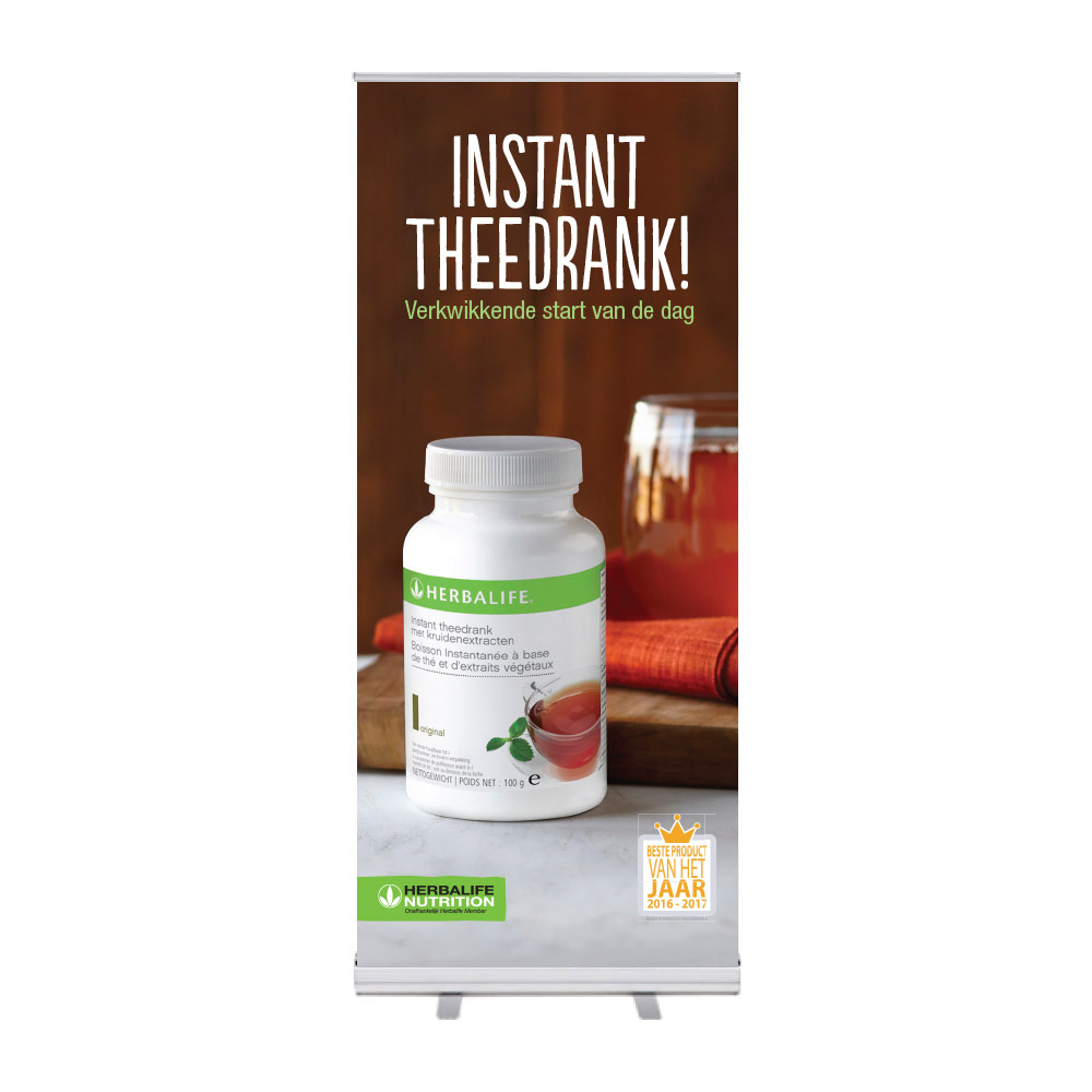 "Roll-Up ""Herbalife POY Tea"""