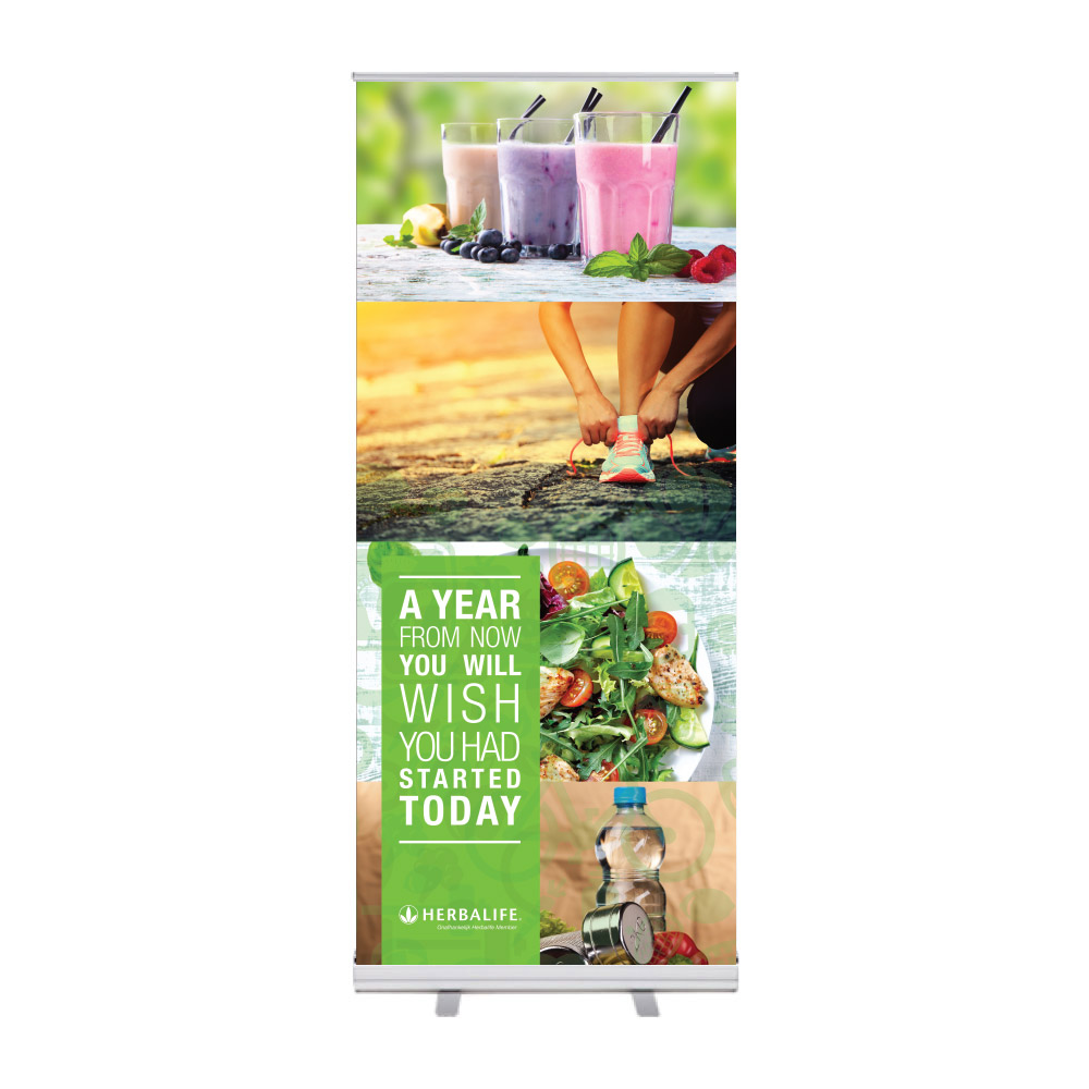 "Roll-Up ""Herbalife Try Out"""