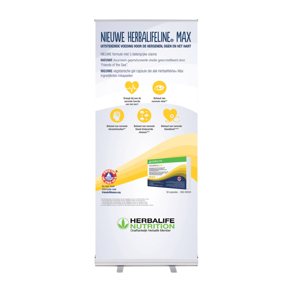 "Roll-Up ""HerbalifelineMax NewandImproved"""
