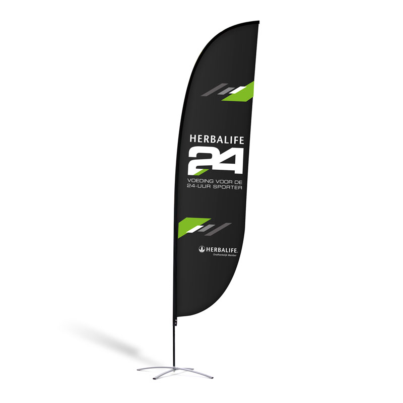 "Beachflag ""Herbalife 24"""